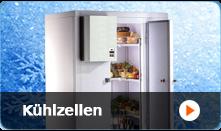 Kühltische und Kühlzellen